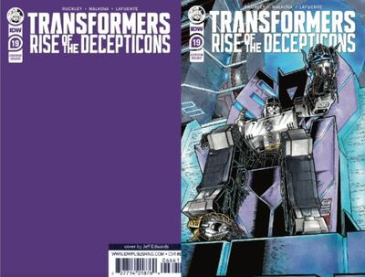 Transformers # 19 Convention Exclusive Variant