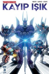 Presstij - Transformers Kayıp Işık Sayı 3 B Kapak