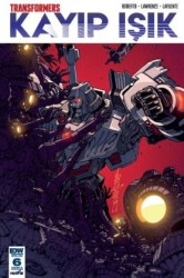 Presstij - Transformers Kayıp Işık Sayı 6 B Kapak