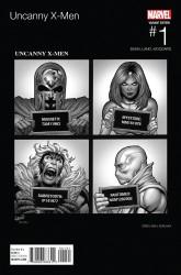 Marvel - Uncanny X-Men # 1 Land Hip Hop Variant