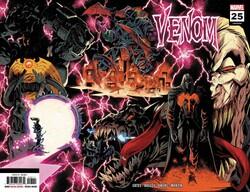 Marvel - Venom (2018) # 25 2nd Printing Wraparound Variant
