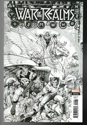 Marvel - War Of Realms # 3 1:200 Art Adams Variant