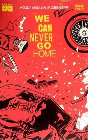 We Can Never Go Home # 4 Matthew Rosenberg İmzalı Sertifikalı