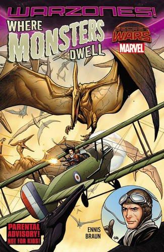 Marvel - Where Monsters Dwell The Phantom Eagle Flies the Savage Skies Warzones! TPB