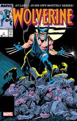 Marvel - Wolverine # 1 By Claremont & Buscema Facsimile Edition
