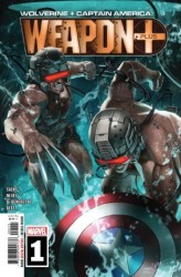 Marvel - Wolverine And Captain America Weapon X Plus # 1