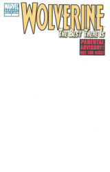 Marvel - Wolverine The Best There Is # 1 Blank Variant
