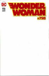 DC - Wonder Woman # 750 Blank