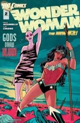 DC - Wonder Woman (New 52) # 2