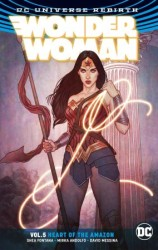DC - Wonder Woman (Rebirth) Vol 5 Heart Of The Amazon TPB