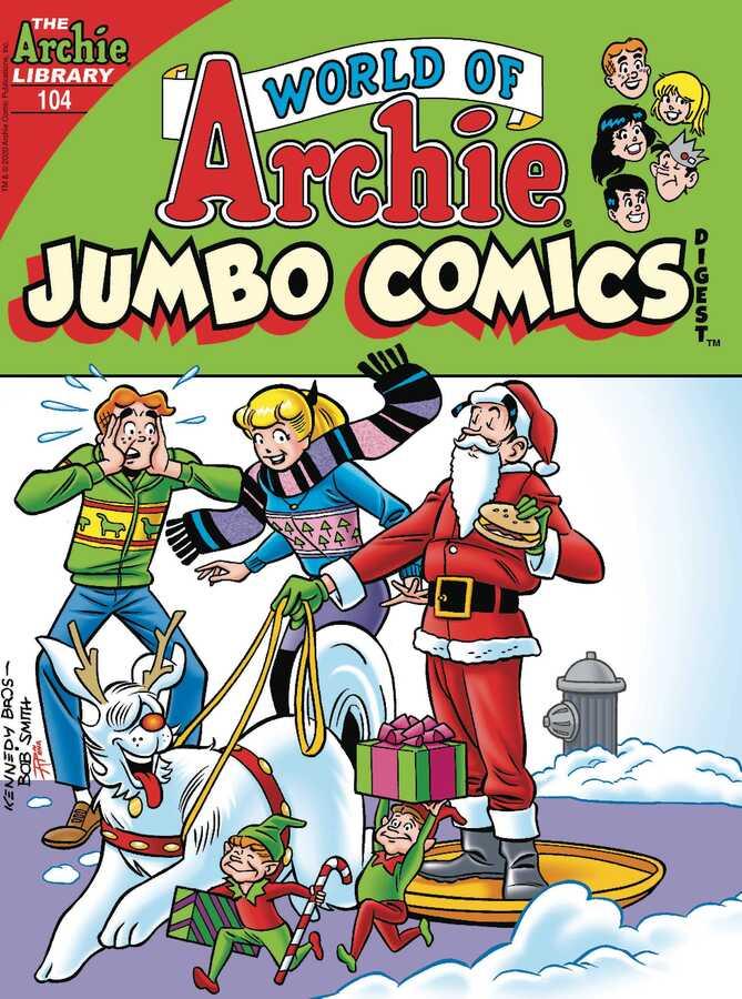 Archie Comics - WORLD OF ARCHIE JUMBO COMICS DIGEST # 104