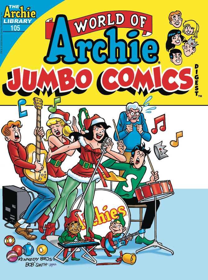 Archie Comics - WORLD OF ARCHIE JUMBO COMICS DIGEST # 105