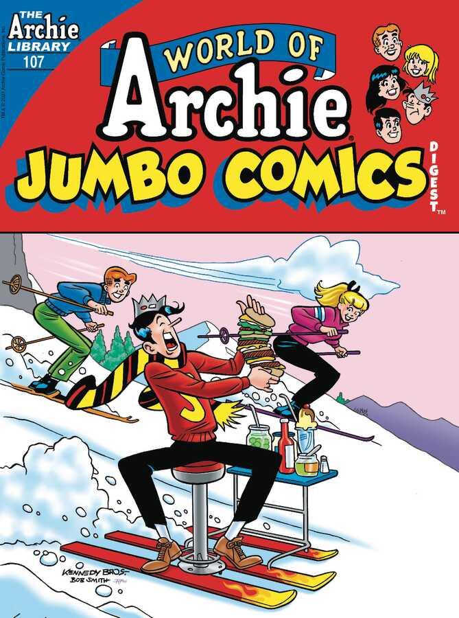 Archie Comics - WORLD OF ARCHIE JUMBO COMICS DIGEST # 107