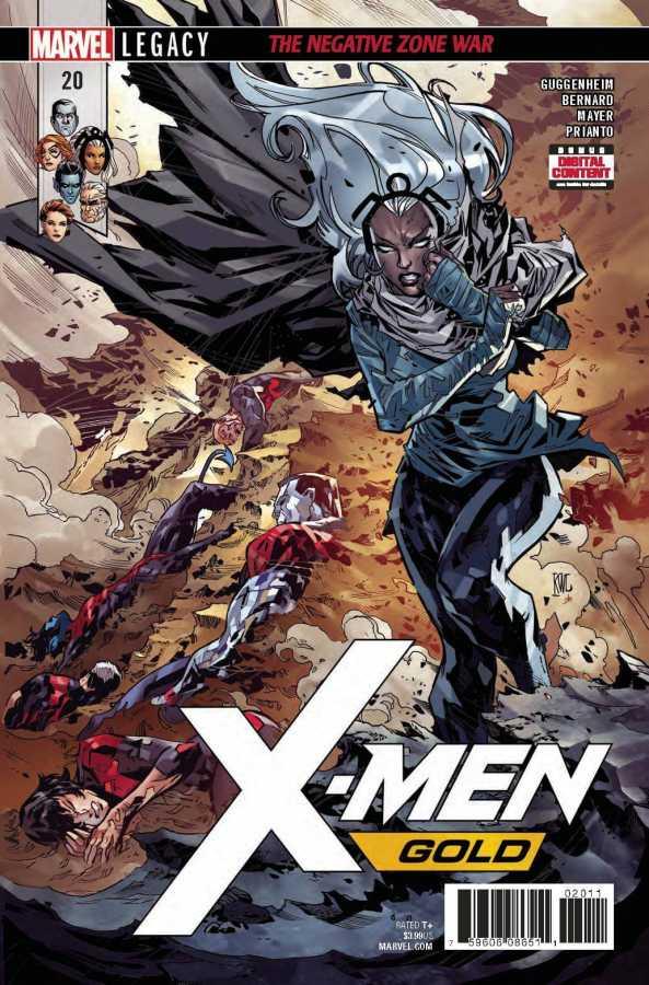 X-Men Gold # 20