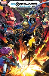 Marvel - X OF SWORDS DESTRUCTION # 1 LARRAZ CONNECTING VAR